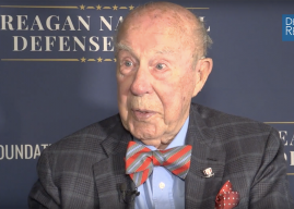 Shultz on Global Security, Deterrence, National Debt, State Department Cuts