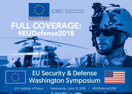 Full Coverage: 2018 EU Security & Defense Washington Symposium