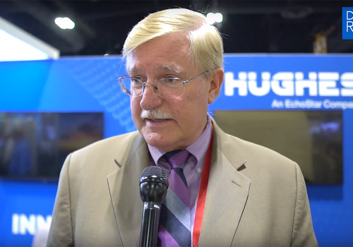 Hughes Network Systems' Lessner on Using Waveforms to Ensure Special Operators' Connectivity