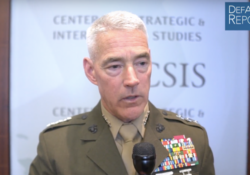 USMC's Beaudreault on Great-Power Competition, Amphibs, Dynamic Force Employment