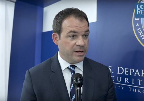 DoD's Chewning on Industrial Base Strategy, M&A Approval Approach