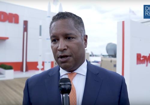 Raytheon's Harris on Global Product Demand, International Sales, Partnerships