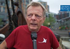 Viking Longship Captain Ahlander Discusses USA Visit, Sailing Historic Vessel