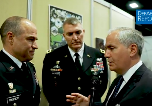 Generals Discuss Need to Build and Maintain Networks to Stay Ahead of Competitors