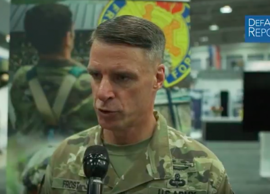 Army's Frost Discusses Revamped Training and Fitness Test