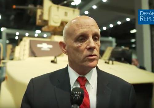 Oshkosh's Bryant Highlights Latest Products and Technology