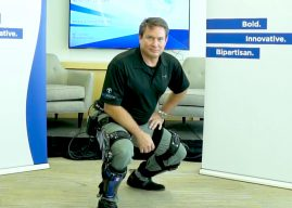 CNAS' Scharre, Lockheed's Maxwell on Onyx Exoskeleton and Super Soldiers