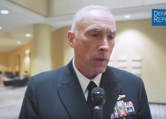 Navy's Tammen on Undersea Warfare and Great Power Competition