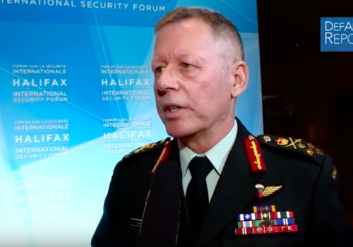 Canada's Vance on Future War & Modernization