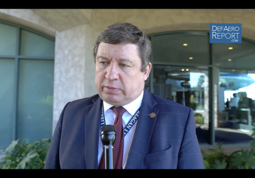 Lithuania's Karoblis on Russia, Ukraine & Trident Juncture 2018