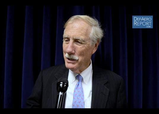 King on Increasing Defense Spending, Making Choices, Bush's Legacy