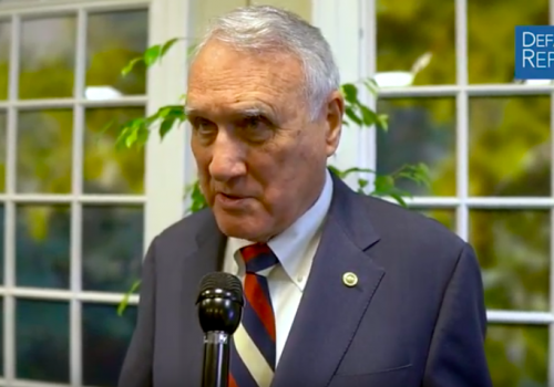 Kyl on Need to Spend More on Defense, Deterrence, Missile Defense, INF Treaty
