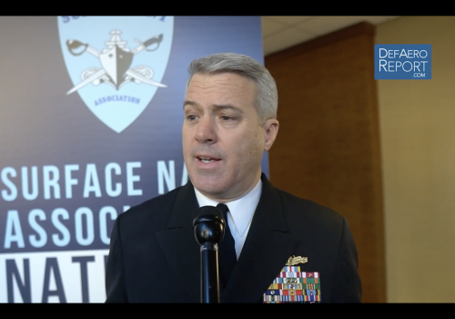 US Navy's Boxall on LCS, FFG(X), Large Surface Combatant, Training Systems