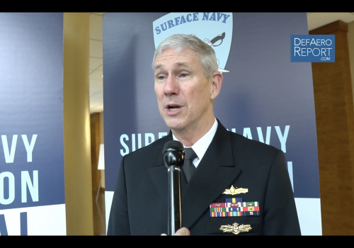 NAVSEA's Moore on Improving Ship Repair, McCain & Fitzgerald, Ford, LCS