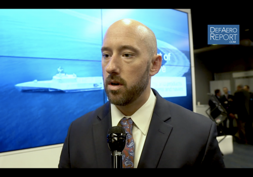 Saab's Smith on Naval Portfolio, Radars, Undersea Systems