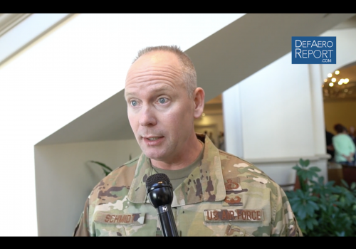 USAF's Schmidt on Cyber Threats, Hygiene, Improving IT Networks