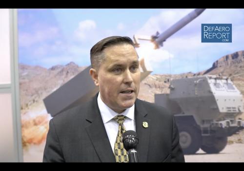 Raytheon's Kelley on Improving Patriot Missile Defense Capabilities
