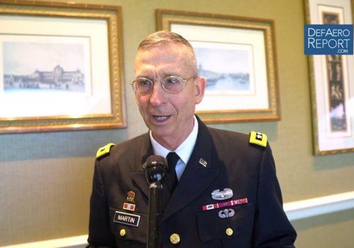 TRADOC's Martin on Rebuilding Warfare Skills, Cold War Lessons, Capabilities, Recruiting & Retention