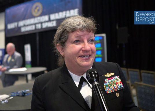 US Navy's Barrett on Improving Cyber Security, Information Warfare