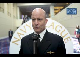 US Navy's Merz on Integrating Systems & Capabilities, Future Fleet, Great Power Mindset