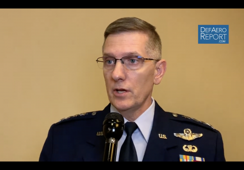 USAF's Ray on Pacific Presence, Right Number of Bombers, New Low-Yield Nuclear Weapon