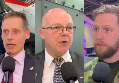 BAE at DSEI: Take, Page & Kylstad on Archer Howitzer, BvS10 and CV90 Mortar Variant