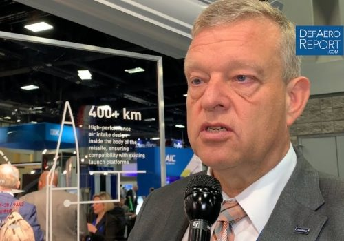 Nammo's Brandtzæg on Long-Range Precision Fires, Volume Production, Investment for Growth