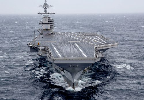 Heady Days for US Navy's Carrier Program