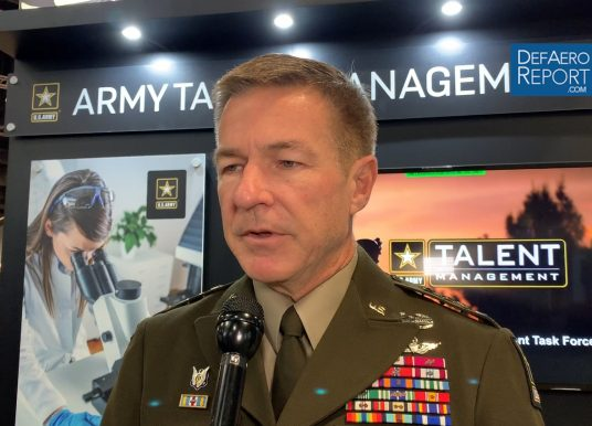 US Army's McConville on Direct Accession, Cyber Training, Talent Recruitment