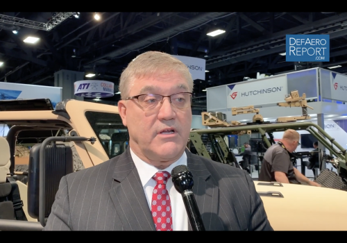 AM General's Vanslager on Fiat Chrysler Partnership; Vehicle & Howitzer Program Updates
