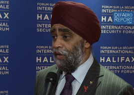 Canada's Sajjan on Defense Spending Increase, Priorities, Programs & Human Rights