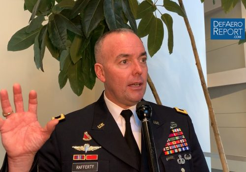 US Army's Rafferty on Future of Long-Range Fires, Hypersonic Weapons