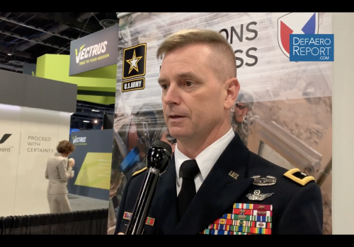 US Army's Royar on Aviation Logistics Under Fire, Big Data, Missile Readiness