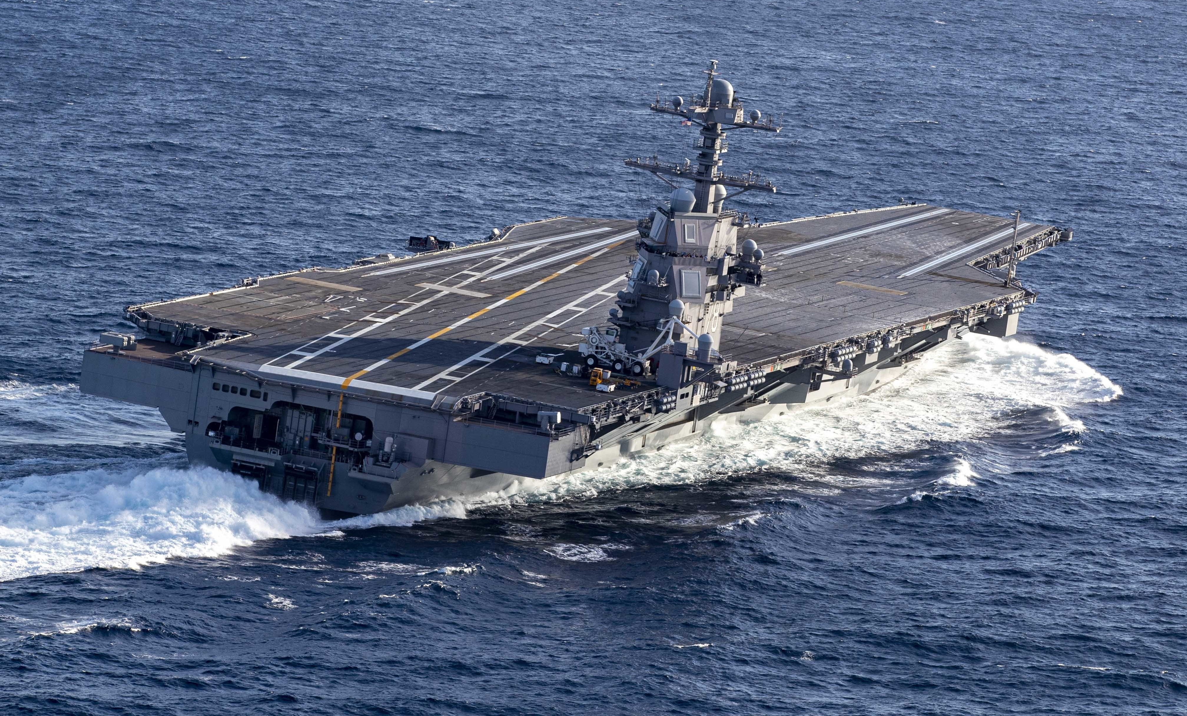 Primed for a Busy Year Ahead, Carrier Gerald R Ford Will Be at Sea ...