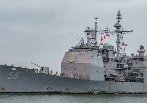 Leyte Gulf Returns to Norfolk after Nine Months Deployed