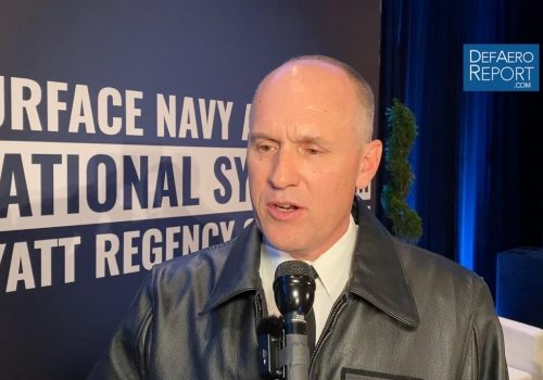 Navy's Black on New Unmanned Vessels, Large Surface Warship, New Weapons, Better Training