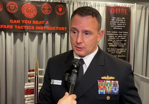 US Navy's Robertson on SMWDC's Evolving Role, Improving Fleet Combat Training
