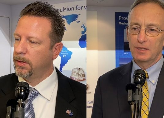 GE's Mankevich & Awiszus on Integrated Shipboard Power, Unmanned Vessels