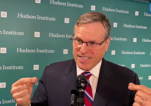 Hudson Institute's Cronin on Coronavirus Impact on China's Leadership