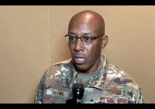 Preview of Interview with PACAF Commander Brown
