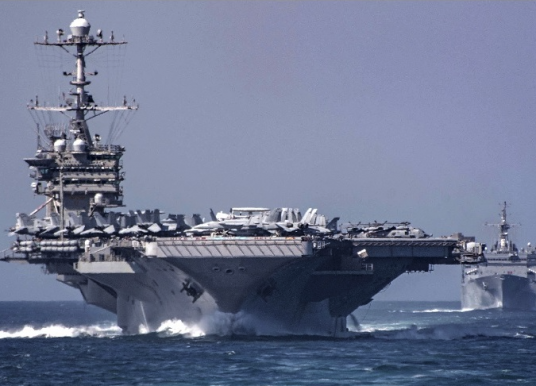 US Navy Carrier Operations Ramp Up