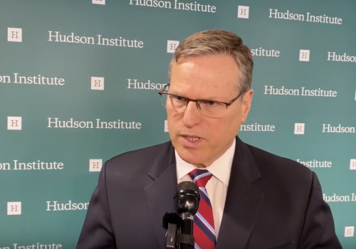 Hudson Institute's Cronin on Indo-Pacific Strategy