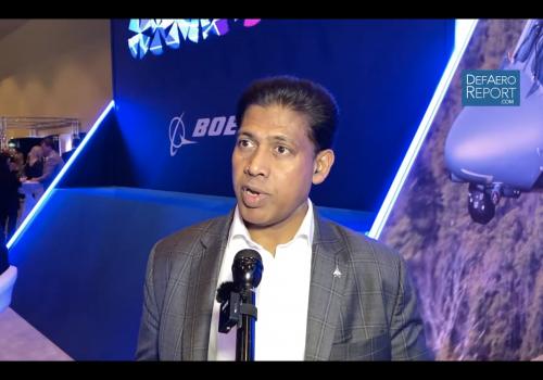 Boeing's Kumar with USAF F-15EX Program Update, Capabilities, Future Sales