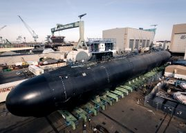 Submarine commissioned while underwater