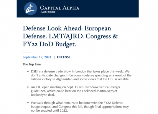 Defense & Aerospace Daily Podcast [Sep 13, 2021] Byron Callan & Global Air Forces Climate Change Collaboration